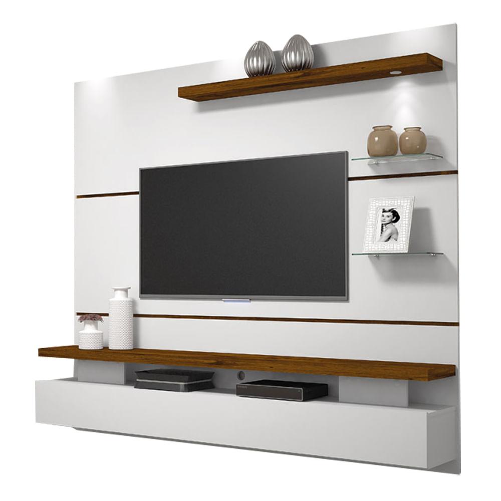 Painel Home Suspenso Para Tv At 65 Greco Bel Air M Veis  ~ Painel De Tv Para Quarto Planejado