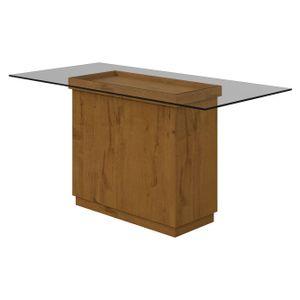 Mesa-Petra-6-Cadeiras-com-tampo-de-vidro-Rovere-Soft