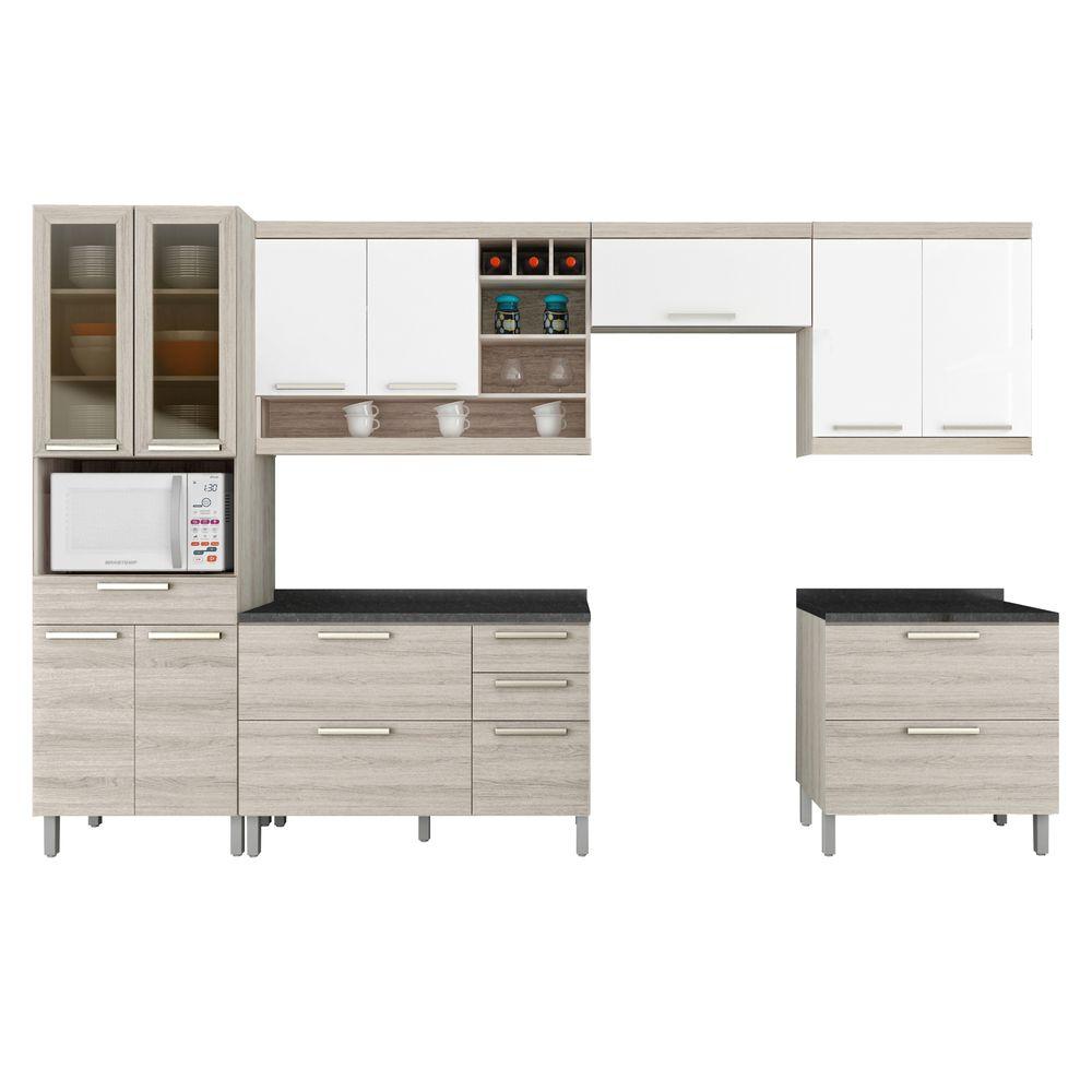 Cozinha Completa Gold 3 Bel Air M Veis Belairmoveis