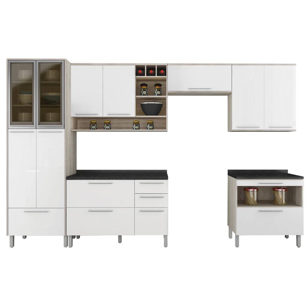 Cozinha Completa Class 3 Bel Air M Veis Belairmoveis