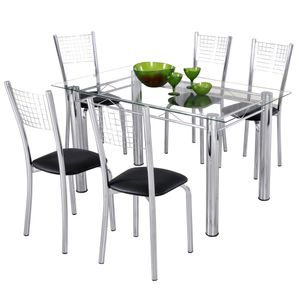 bel-air-moveis-mesa-base-cromada-tampo-vidro-4-cadeiras-modecor-esmeralda-retangular