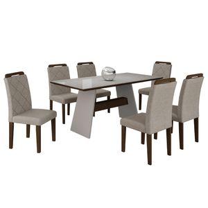 bel-air-moveis-mesa-de-jantar-melissa-6-cadeiras-off-white-castor-turim-tmp-branco