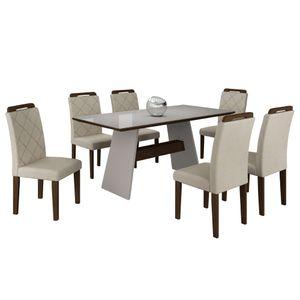bel-air-moveis-mesa-de-jantar-melissa-6-cadeiras-off-white-castor-velud-creme-tmp-branco