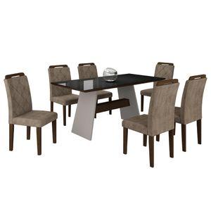 bel-air-moveis-mesa-de-jantar-melissa-6-cadeiras-off-white-castor-animalle-tmp-preto