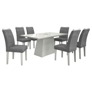 Bel-Air-Moveis_Mesa-de-Jantar_Pampulha-180-quina-reta-com-6-cadeiras-branca-linho-cinza