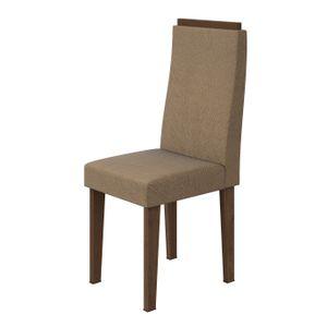 Cadeira-Dafne-Suede-Animale-Bege-Rovere-Soft