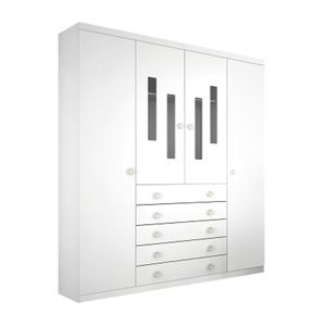 Armario-4-portas-Evolution-Branco