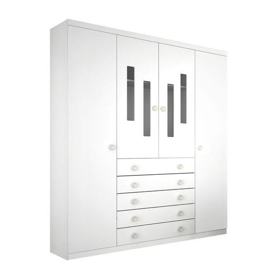Armario-4-portas-Evolution-Branco