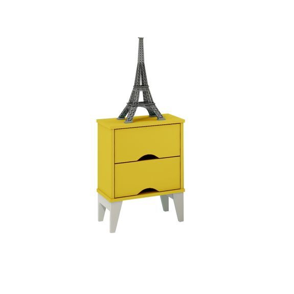 Criado-Twistter-2-gavetas-Amarelo-Branco