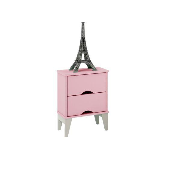 Criado-Twistter-2-gavetas-Quartzo-Rosa-Branco