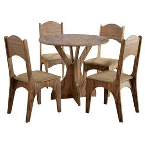 bel-air-moveis-mesa-nina-tm-10-nobre-fosco-4-cadeiras-ca-18-dalla-costa