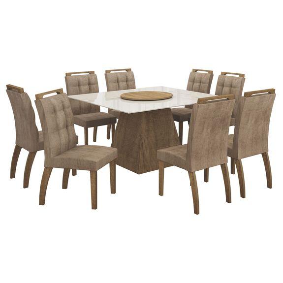 Bel-Air-Moveis_Mesa-de-jantar-Grecia-140cm-prato-giratorio-cadeiras-malaga_Ype-Animale-capuccino
