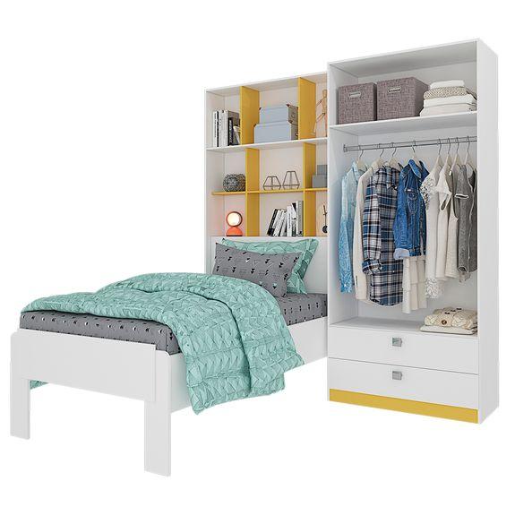 Bel-Air-Moveis_Modulo-Nina_Cimol-com-kit-cama-solteiro-branco-amarelo