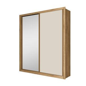 Bel-air-moveis_Guarda-roupa-madrid-2-portas-correr-espelho-amendoa-off-white
