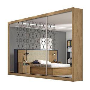 Bel-air-moveis_guarda-roupa-toronto-3-portas-com-espelhos-amendoa