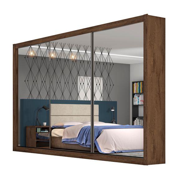 Bel-Air-Moveis_Guarda-Roupa_Toronto-3-portas-espelhadas_Brauna