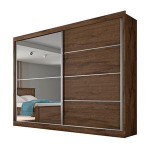 Bel-Air-Moveis_Guarda-roupa_Verona-2-portas-com-espelho-brauna