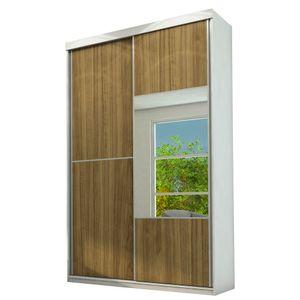 Bel-Air-Moveis_Guarda-roupa-2-portas-espelho_branco-acetinado-caramelo-branco-acetinado-Europa