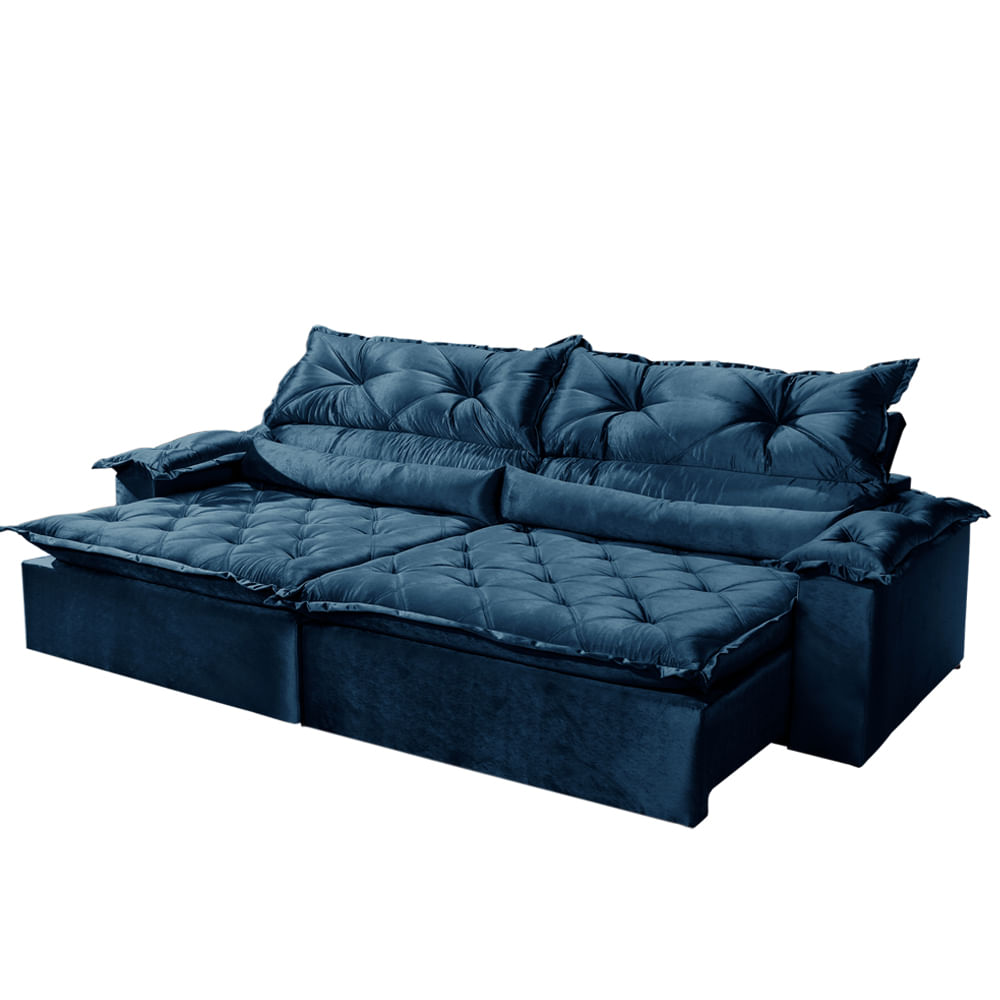 Sofa Agatha 2 40m 3 Lugares Retratil E Reclinavel Bel Air Moveis