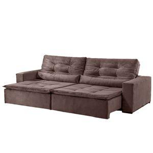 bel-air-moveis-estofado-sofa-new-veneza-montano-3-lugares-suede-marrom-retratil-reclinavel