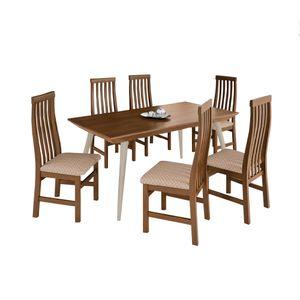 Bel-Air-Moveis_Mesa-de-jantar-Quartz-6-Cadeiras-Tina-matelasse-bege_Stefan