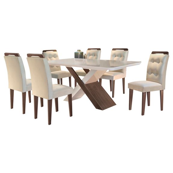 Bel-air-moveis_Mesa-de-jantar-imperatriz_cafe-off-white_cadeira-imperatriz_cafe-tecido-veludo-bege_rufato