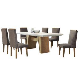 bel-air-moveis-sala-de-jantar-florenca-rufato-cadeiras-lunara-tecido-animale-chocolate
