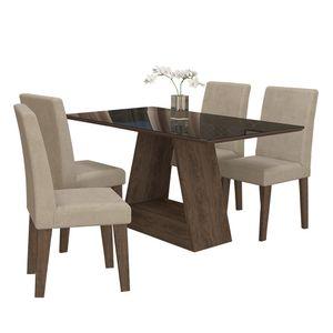 bel-air-moveis-sala-de-jantar-alana-1300-x-800-com-4-cadeiras-milena-marrocos-preto-sued-bege-cimol
