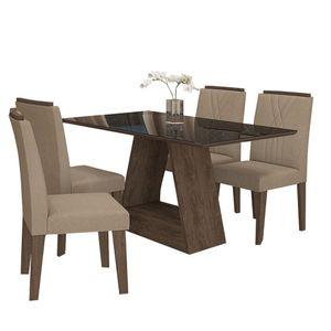 bel-air-moveis-sala-de-jantar-alana-130-x-80-com-4-cadeiras-nicole-marrocos-preto-caramelo-cimol