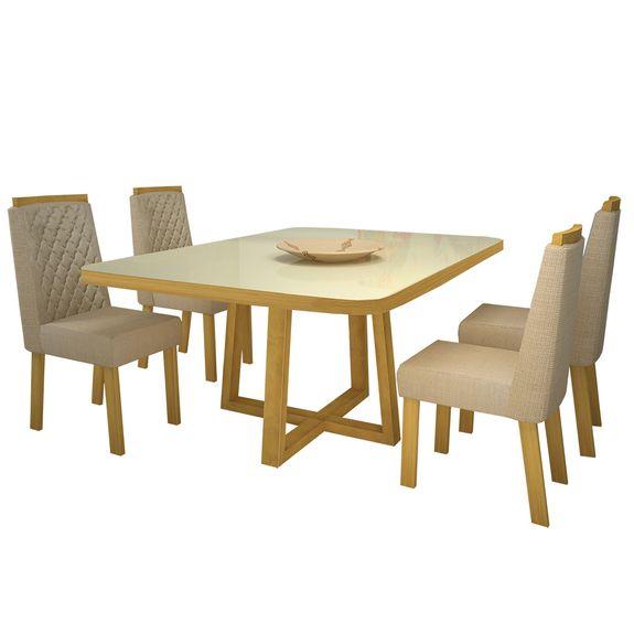 bel-air-moveis-sala-de-jantar-luma-com-4-cadeiras-luma-veludo-luxo-bom-pastor