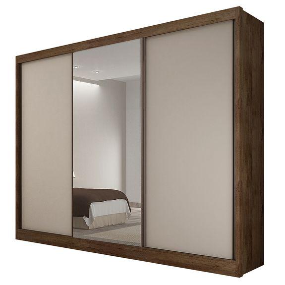 bel-air-moveis-armario-roupeiro-guarda-roupa-diamond-com-espelho-novo-horizonte-canela-off-white