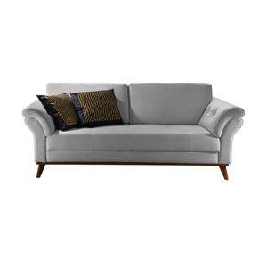 bel-air-moveis-cadeira-sofa-castelli-2-lugares-lara-moveis-cinza