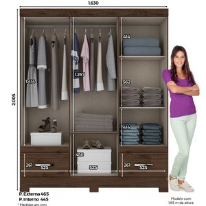 bel-air-moveis-guarda-roupa-briz-lancamento-henn-cor-cafe-6-porta-interno