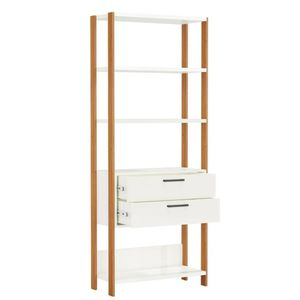 bel-air-moveis-torre-e-91-2-gavetas-sala-de-estar-estante-dalla-costa-off-white-freijo-aberto