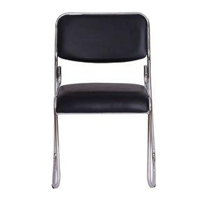 bel-air-moveis-cadeira-dakar-escritorio-preta-base-cromada-frente