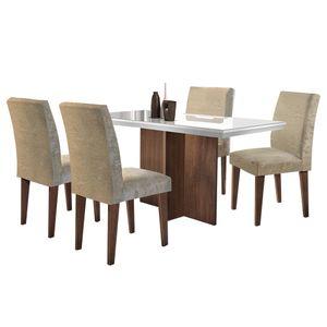 bel-air-moveis-conjunto-mesa-de-jantar-berlim-4-cadeiras-grecia-cafe-tecido-suede-amassado