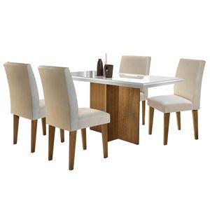 bel-air-moveis-conjunto-mesa-de-jantar-berlim-4-cadeiras-grecia-imbuia-tecido-veludo-creme