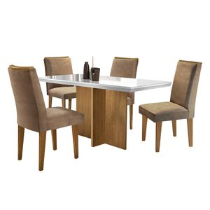 bel-air-moveis-mesa-berlim-imbuia-cadeira-lunara-animale-chocolate