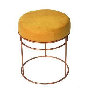bel-air-moveis-banqueta-lara-nice-pavia-amarelo-metalizada-bronze